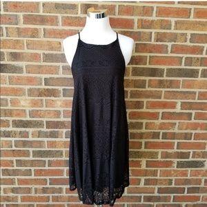 Black T-Strap Dress